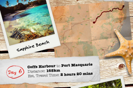 Once in a Life Time Tour of Australia: New South Wales Infographic