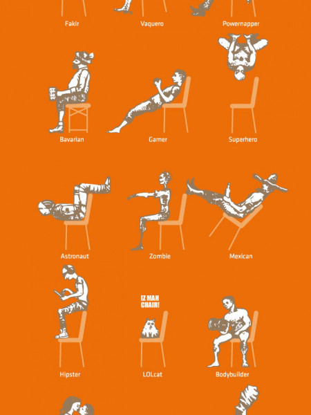 one chair fits all Infographic