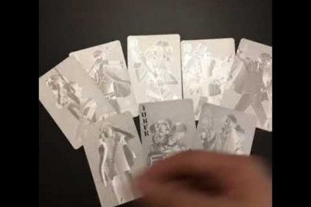 One Piece Silver Military Poker Card Infographic