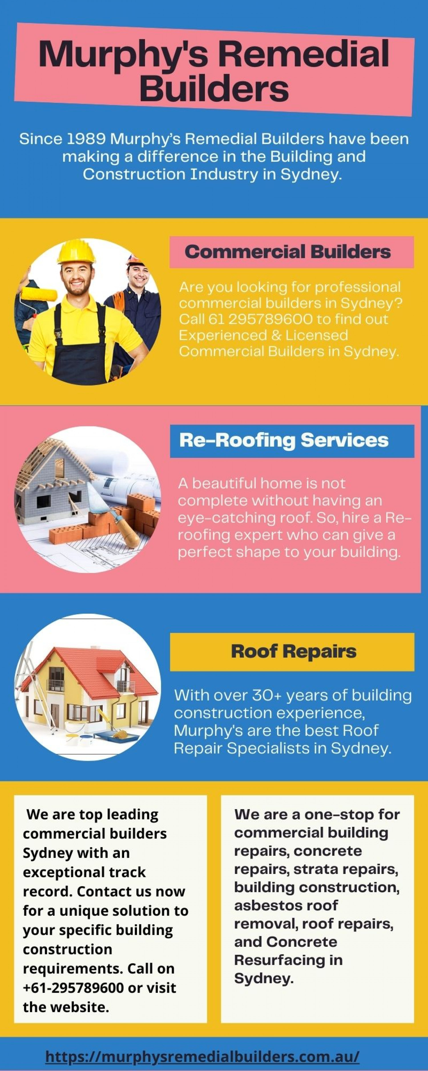 One Stop for All Building Construction Need  Infographic