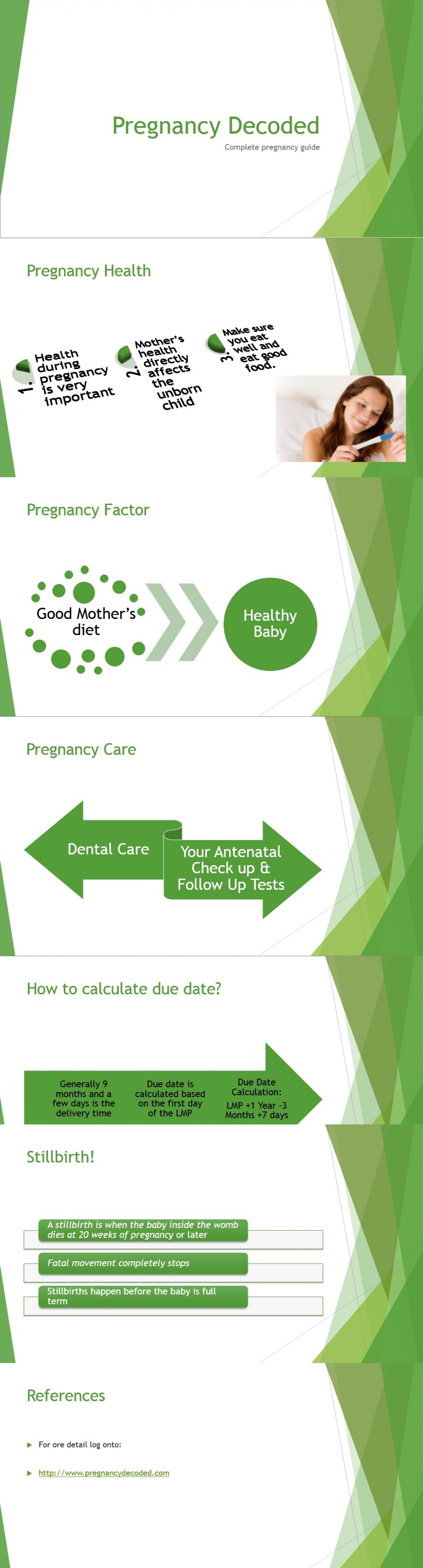 One stop pregnancy guide Infographic