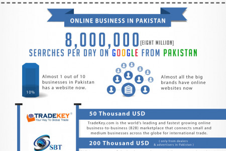 Online Business in Pakistan Infographic