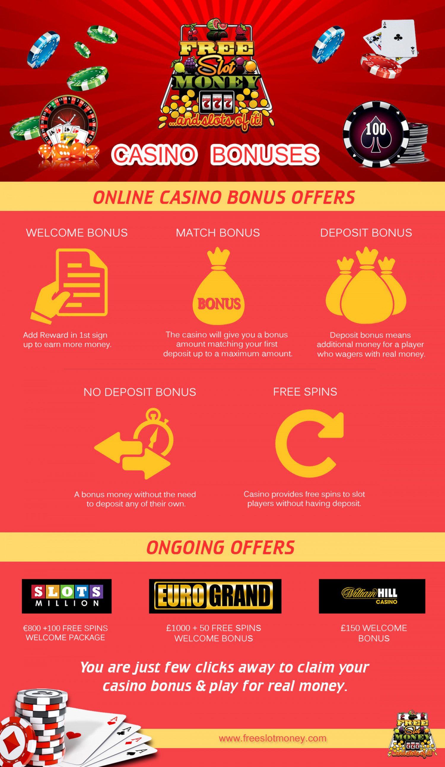 Bonus casino free offer online that gambling night party