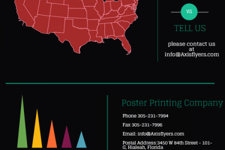 Online Flyer Printing Company Infographic