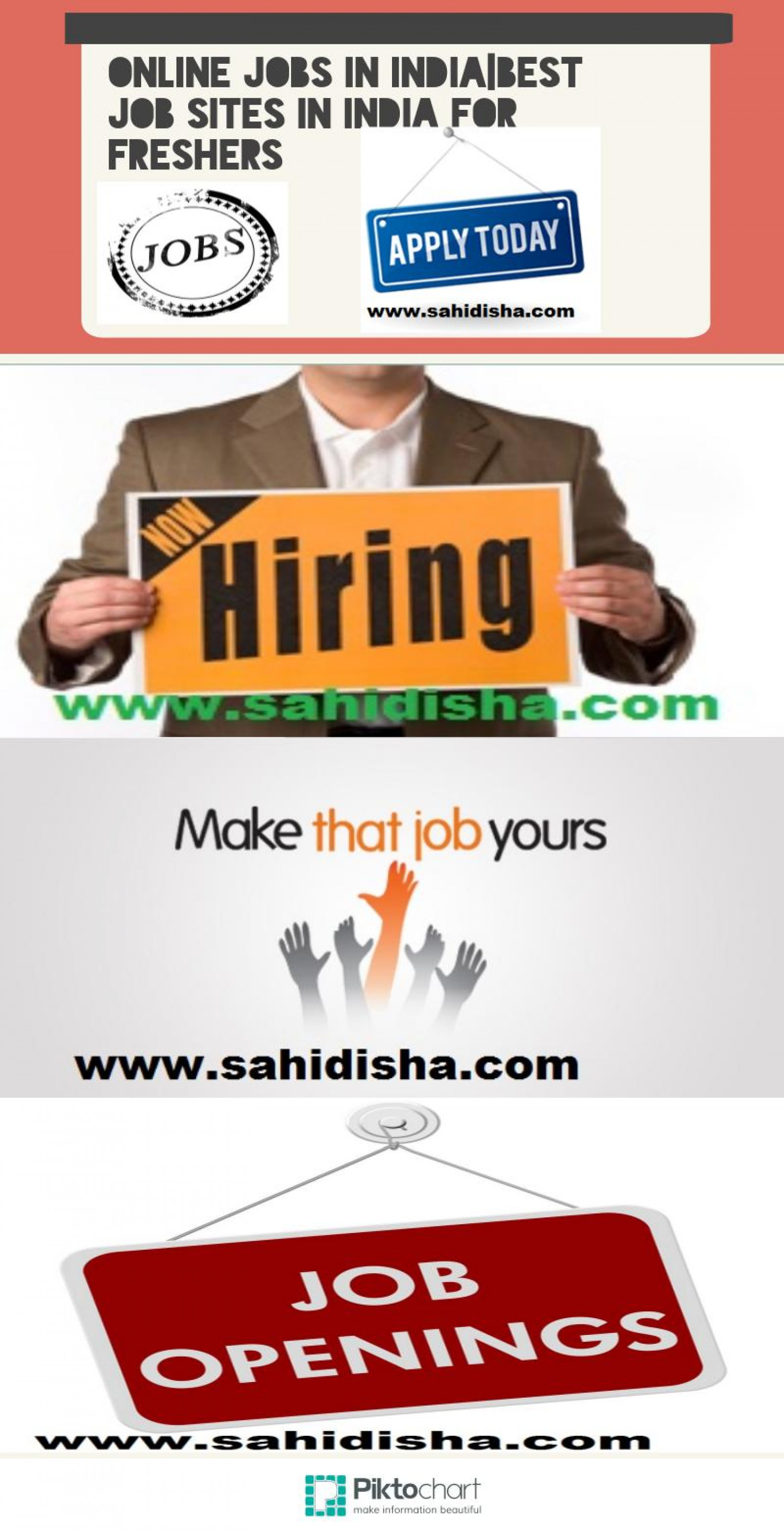 online jobs in best job sites in for freshers visual ly online jobs in best job sites in for freshers infographic