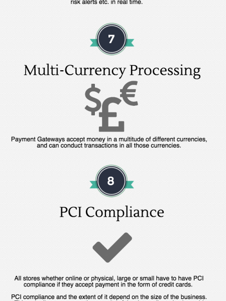 Online Payment Gateway: 15 things to know Infographic