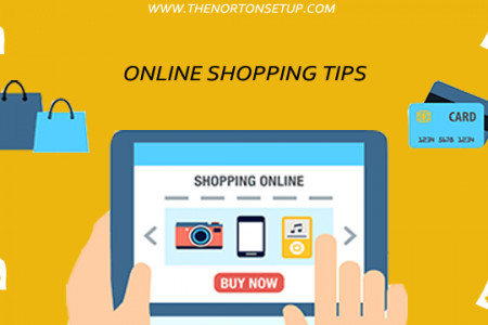 Online shopping Tips Infographic