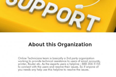 Online technicians : Technical Support Services Infographic