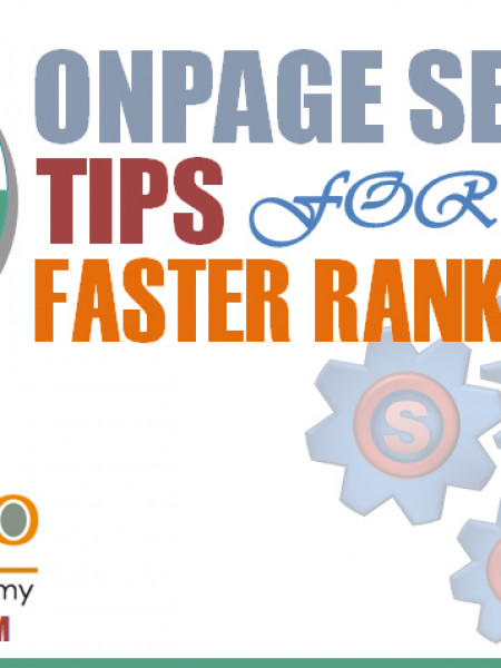 Onpage SEO Techniques to Make Site Rank Faster - PromozSEO Infographic