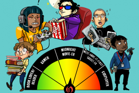 Open Road Media Geek-O-Meter Infographic