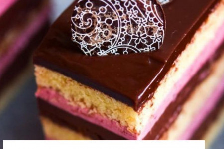 Opera Cake in Montreal Canada | Gift Delivery Canada Infographic