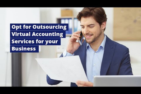 Opt for Outsourcing Virtual Accounting Services for your Business Infographic