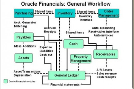 Oracle  Apps Financials Technical Online Training Infographic