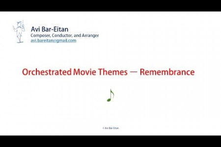 Orchestrated Movie Themes – Remembrance Infographic