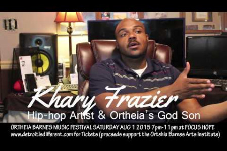 Ortheia Barnes Music Festival: Khary WAE Frazier 2 of 2  Infographic
