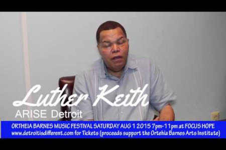 Ortheia Barnes Music Festival: Luther Keith  Infographic