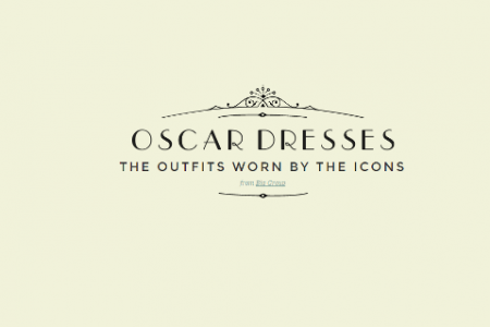 Oscar Dresses: The Outfits Worn by the Icons Infographic