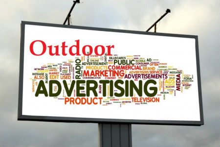 Outdoor Advertising Agencies in India Infographic