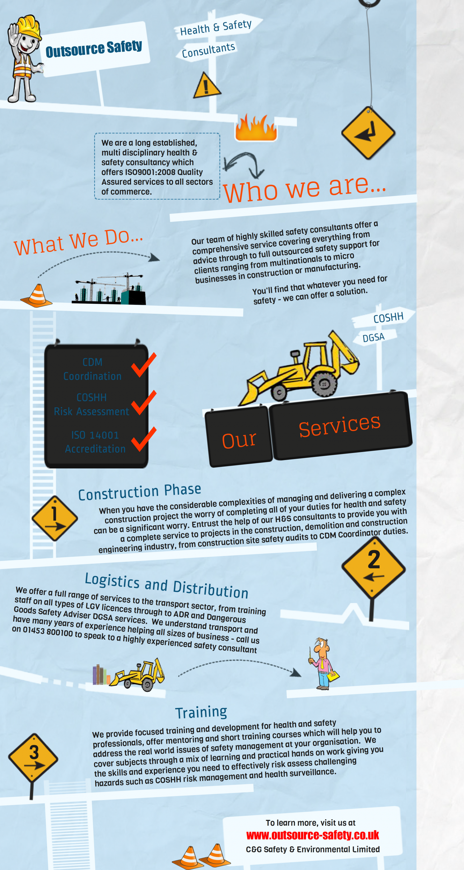 Outsource Safety with Seasoned Experts Infographic