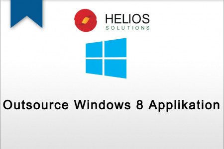 Outsource Windows 8 Applikation Infographic