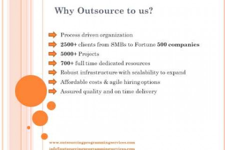 Outsourcing Custom Software Development Services & Solutions| OPS Infographic