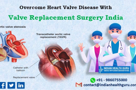 Overcome Heart Valve Disease With Valve Replacement Surgery India Infographic