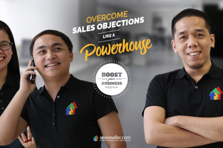 Overcome Sales Objections Like a Powerhouse Infographic
