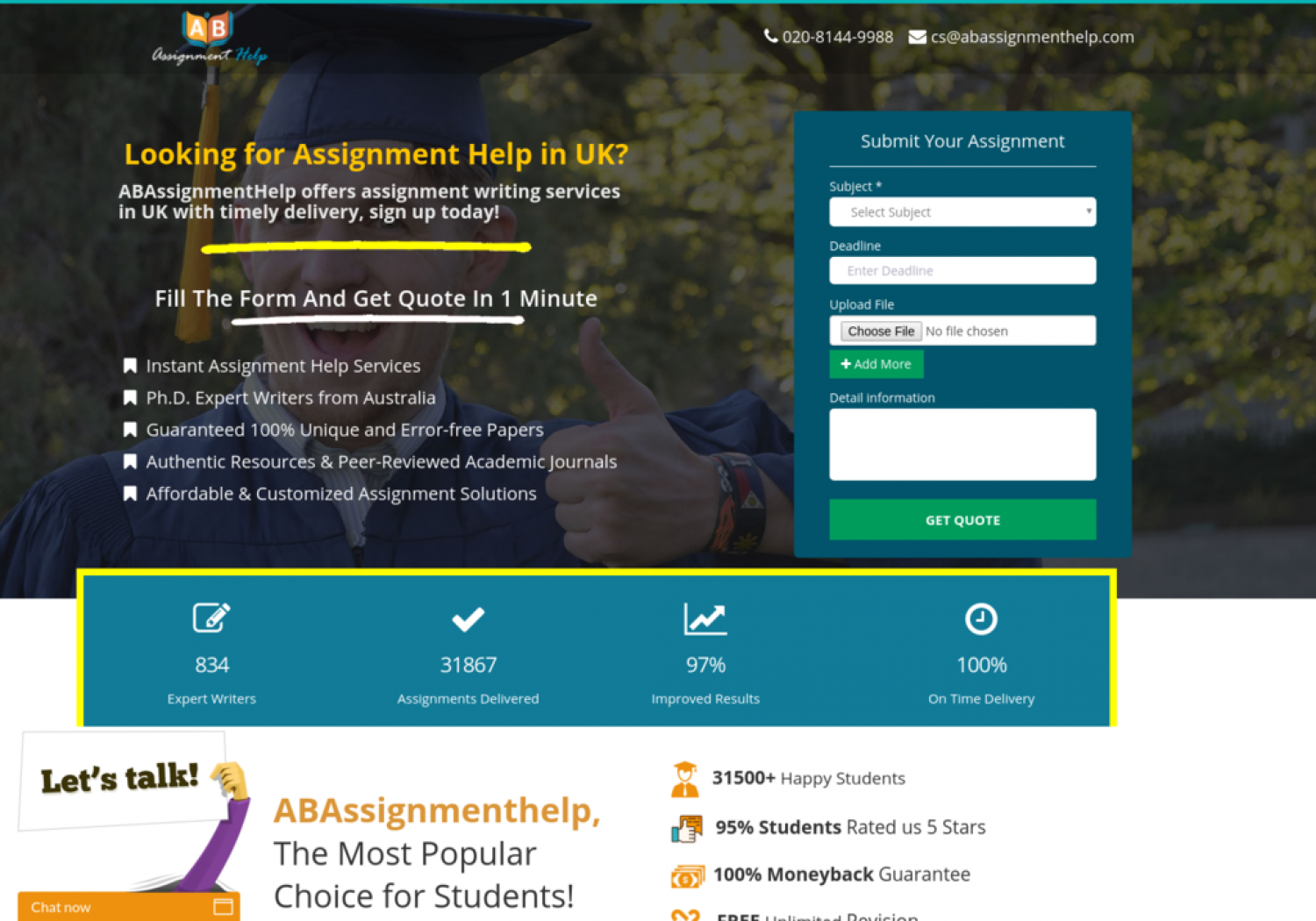 OVERRIDING FEATURES OF ASSIGNMENT HELP SERVICES Infographic
