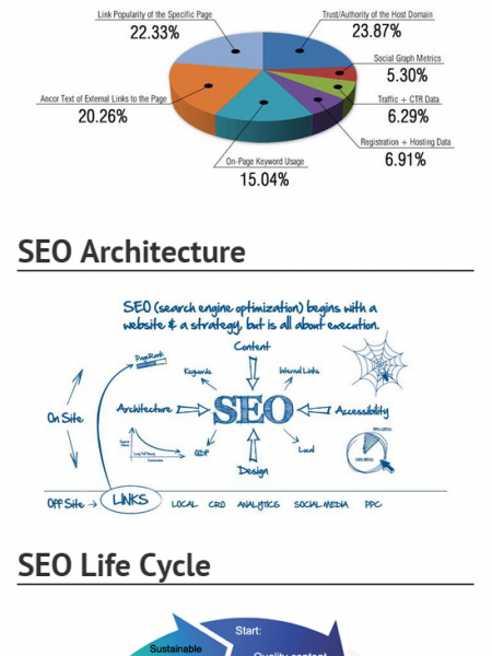 Overview Of Online Marketing Infographic