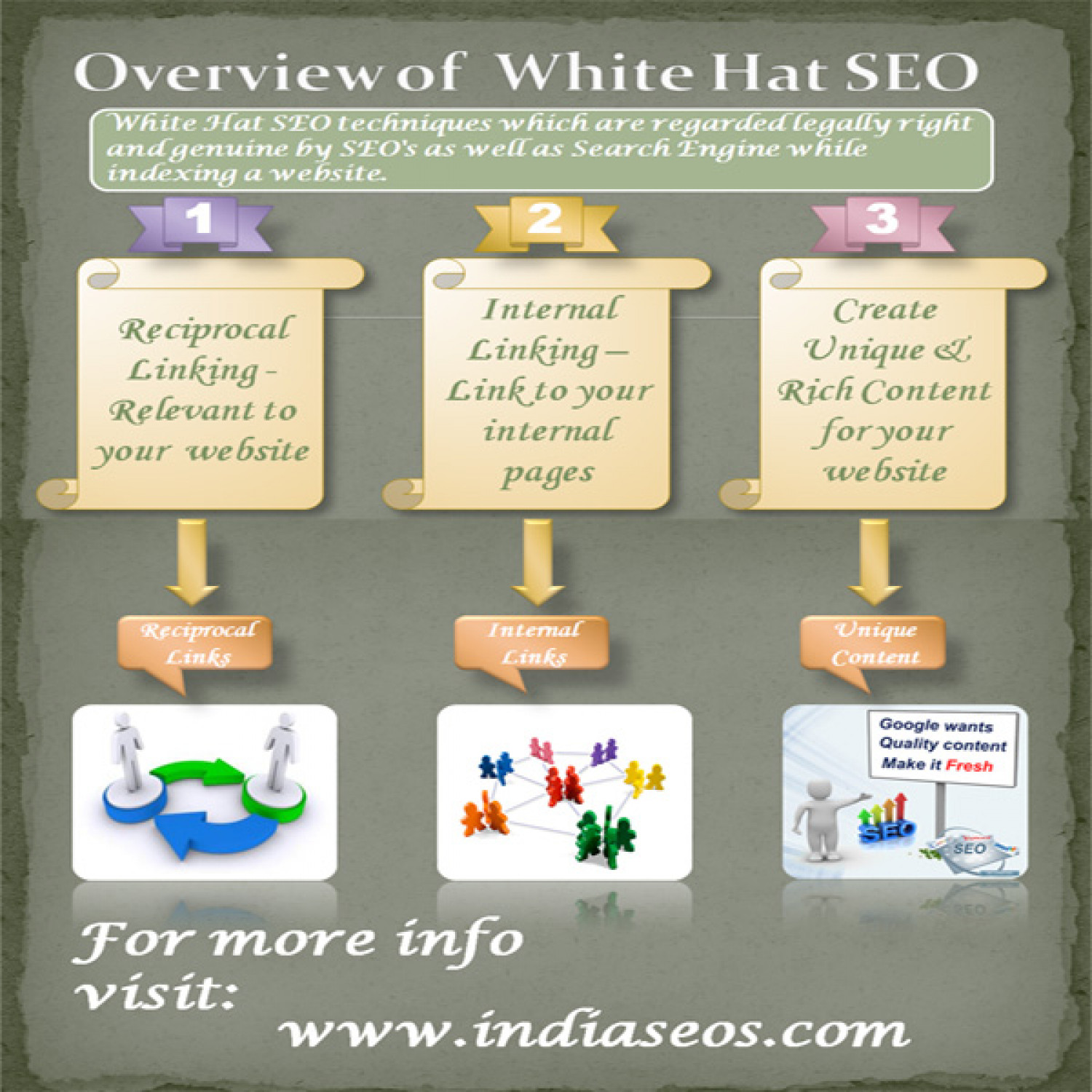 Overview of White Hat SEO Infographic