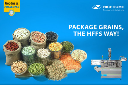 Package grains, the HFFS way! Infographic