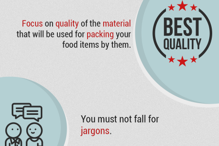 Packed Food Items That Are Backed With Lasting Freshness! Infographic