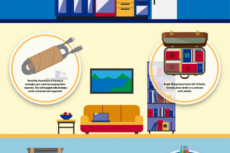 Packing hacks for saving money and protecting your items Infographic