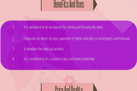 Padparadscha Infographics Infographic