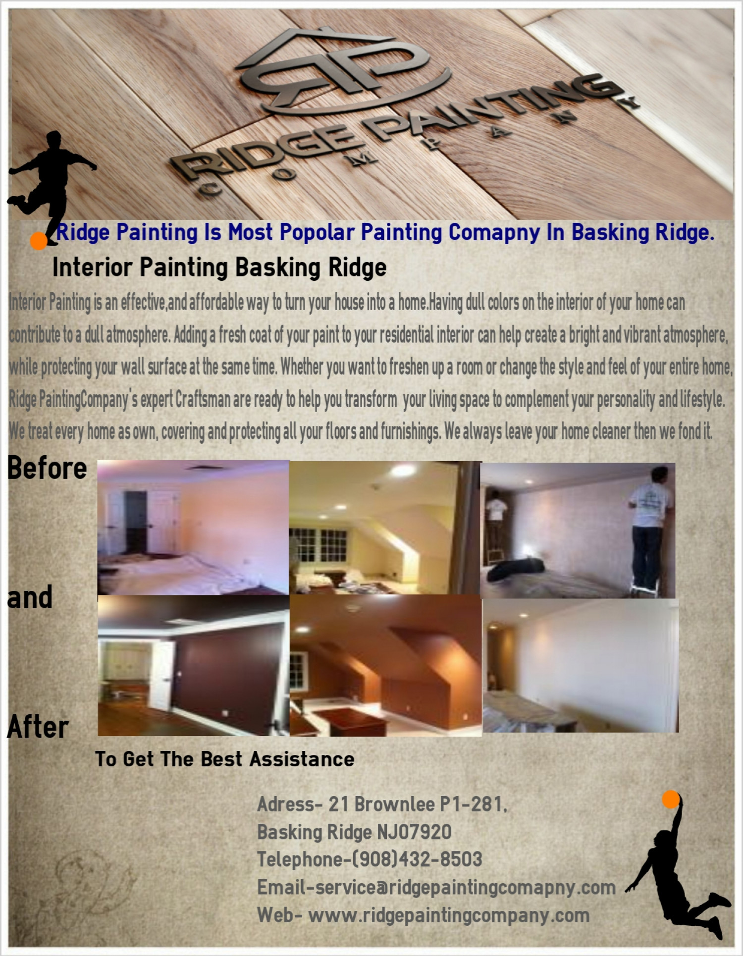Painting Company in Basking Ridge Infographic