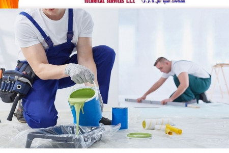 Painting Services in Dubai Infographic