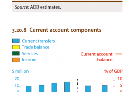 Pakistan : Current account components Infographic