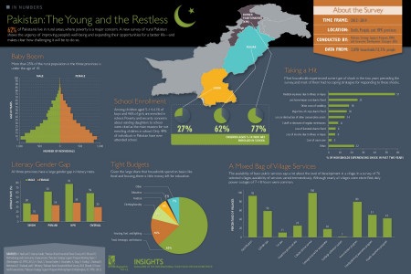Pakistan: The Young and the Restless Infographic