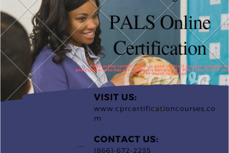 PALS Online Certification Infographic