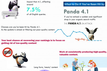 Panda 4.1 Diagnosis and Recovery Infographic