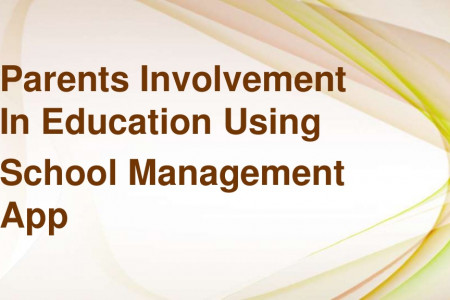 Parents involvement in education using School Management System Infographic