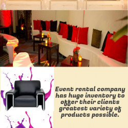 Party Furniture Rental Dubai