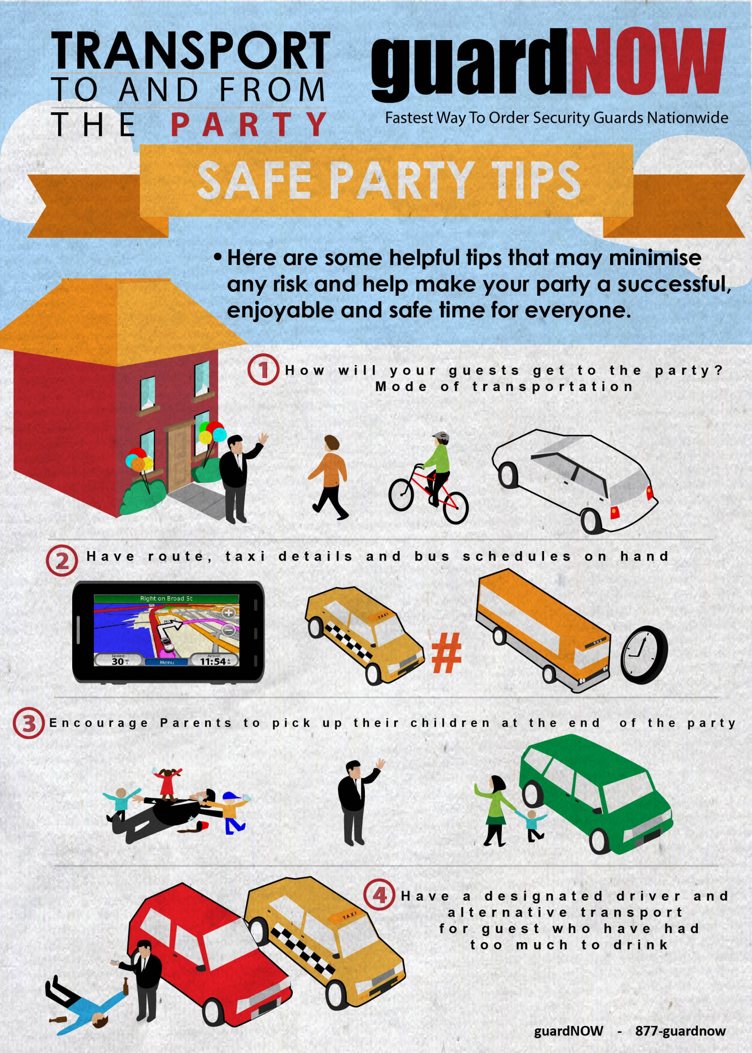 Party security Infographic