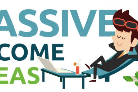 Passive income ideas Infographic