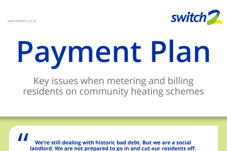 Payment Plan: Key Issues When Metering and Billing Residents on Community Heating Schemes Infographic
