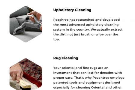 Peachtree Carpet Cleaners Infographic