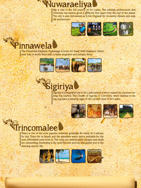 Pearl of the Indian Ocean: Sri Lanka Infographic