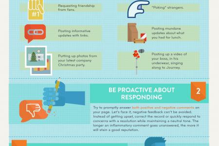 Peer Perceptions: Guide to Maintaining Good Business Reputation on Facebook Infographic