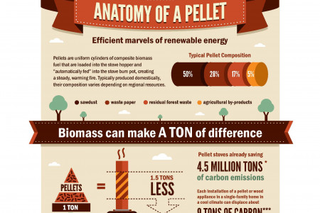 Pellet Stoves are AWESOME Infographic