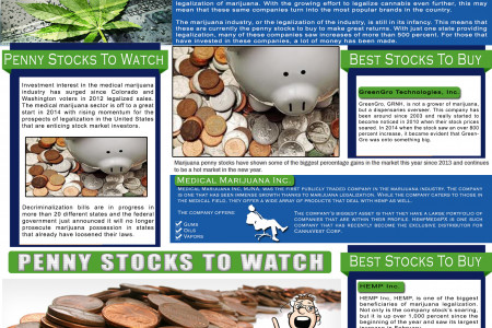 Penny Stocks To Buy Infographic